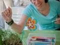 Atelier fabrication de fleurs