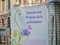 Le panneau titre de l'exposition