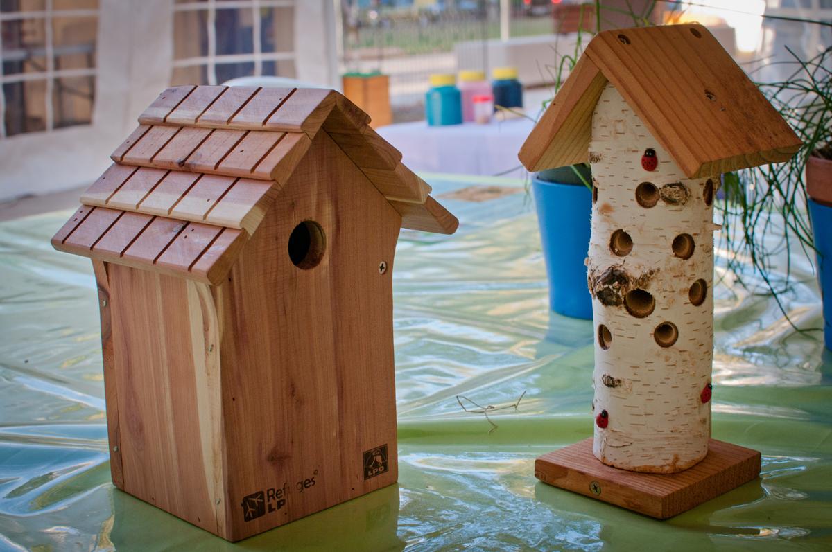 Atelier nichoirs à insectes